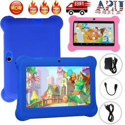 """7""""Kids Tablet Quad Core Android 8G WiFi Dual Camera Educatio"""