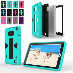For 7inch Amazon Kindle Fire 7 2017 Tablet Hybrid Shockproof