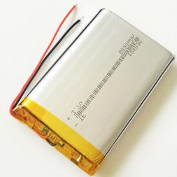 8000mAh 3.7V lipo Rechargeable Battery 126090 Cell For PAD M