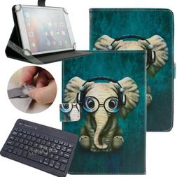 """For 9.7-10.1"""" inch Tablet Music Elephant Universal Leather C"""