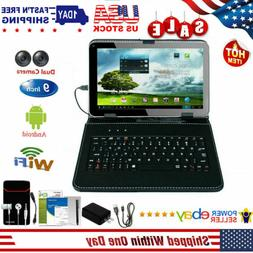 "9"" Inch Android Tablet PC Quad Core 8GB HD Dual Camera Wi-Fi"