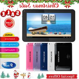 "KOCASO® 9"" Inch Android 4.4 Tablet Quad Core 8GB Dual Camer"