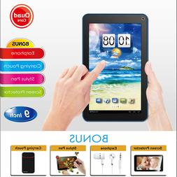 "🔥9"" 7"" Tablet PC Android Quad Core 8GB HD Dual Camera WiF"