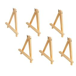 "9""Tall Tripod Artist Display Tabletop Easel NATURAL Pine Woo"