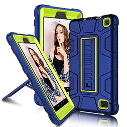 "All-New Amazon Fire 7"" 2017 Case, Elegant Choise 7th Generat"