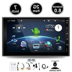 "Android 7.1 Double Din GPS Navigation Full Touch Audio 7"" GP"