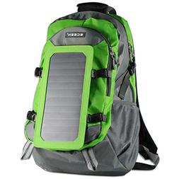 ECEEN Solar Charger Backpack With 7 Watts Solar Panel For Sm