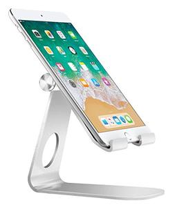 MoKo Tablet Stand, Multi-Angle Rotatable Aluminum Cellphone