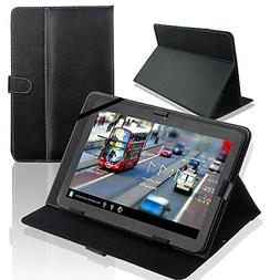 SQdeal Universal Folio PU Leather Stand Case Cover for 10''
