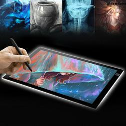 A4 LED Light Graphic Tablet  Drawing Board Panel Luminous St