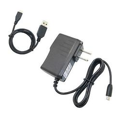 AC/DC Power Adapter Wall Charger + USB Cord Cable For Lenovo
