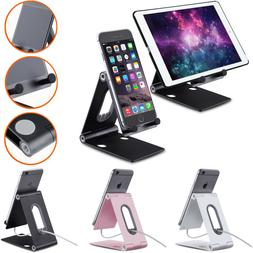 Adjustable Angle Aluminum Stand Desk Phone Holder For Tablet