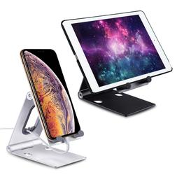 Adjustable Portable Desktop Stand Desk Holder For Tablet/Cel