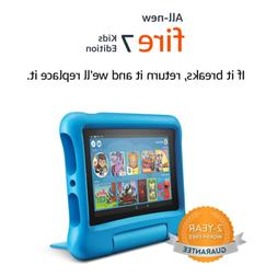 """All-New Fire 7 Kids Edition Tablet, 7"""" Display, 16 GB, Blue"""