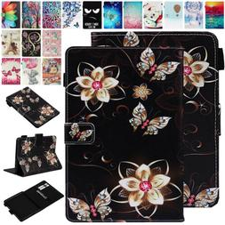 For Amazon All-New Kindle 10th 2019 Patterned Leather Smart