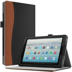 Infiland All-New Amazon Fire HD 10 Tablet Case - Smart Folio