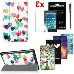 For Amazon Fire HD 8 inch 2017 Tablet Case Cover Stand Shell