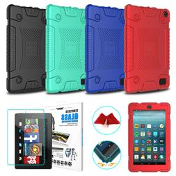 For Amazon Kindle Fire 7 2017 7th Gen Soft Silicone Tablet C