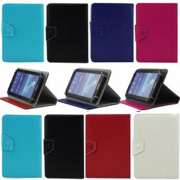 "For Amazon Kindle Fire 7 8 10"" inch Tablet 2017 Leather Fold"