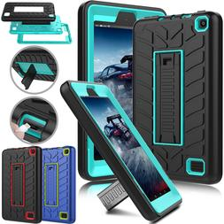 For Amazon Kindle Fire HD 8 / 7 7th Gen 2017 Tablet Shockpro