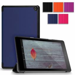 For Amazon Kindle Fire HD 8 inch 2016 Ultra Slim PU Leather
