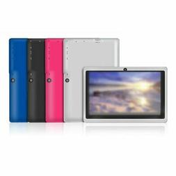 Android 7 Inch Wifi Children Study Tablet Computer PC Quad C