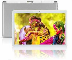 """Android Tablet 10 Inch with Sim Card Slots - 10.1"""" 4GB RAM 6"""