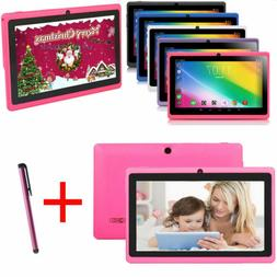 Android6.0 Kids Tablet 7'' inch Quad Core HD Dual Camera WiF
