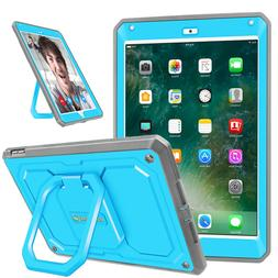 For Apple iPad 9.7 inch 6th Gen 2018 Tablet 360 Rotating Cas