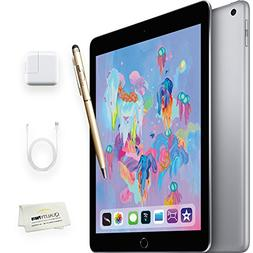 Apple iPad 9.7 inch - 32GB, Wi-Fi, Space Gray + iPad Stylus/