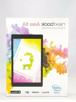 "NEW Nextbook Ares 8A - 16GB, 8"" Quad-Core Android Tablet  Re"