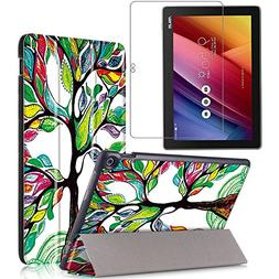 Gzerma Asus ZenPad 10 Case with Screen Protector 10.1 Inch T