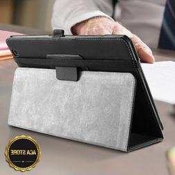 For AT&T Primetime Tablet Case Synthetic Leather Stand Cover