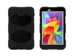 Griffin Black Survivor All-Terrain Case + Stand for Samsung