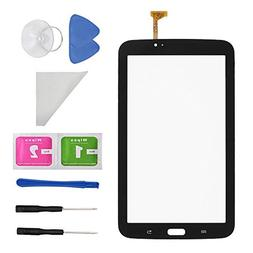 Black Touch Digitizer Screen Replacement for Samsung Galaxy