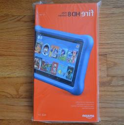 BLUE | Amazon Fire HD 8 Kids Edition Tablet 8 Display 32GB 7