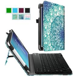 Bluetooth Keyboard Case Cover Stand for Samsung Galaxy Tab E