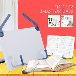 Book Stand Sheet Music Holder For Desk Reading Rest Textbook