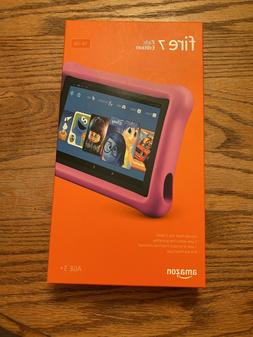 BRAND NEW - AMAZON FIRE 7 TABLET KIDS EDITION 16 GB PINK CAS