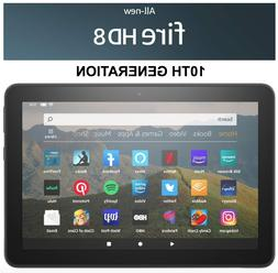 """All-new Fire HD 8 tablet, 10th GEN, 8"""" HD display, 32 GB and"""