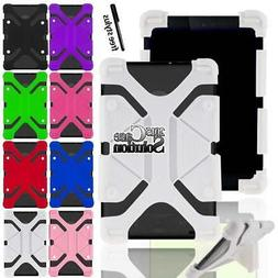 Bumper Silicone Stand Cover Case For Google Nexus 7 TABLET +