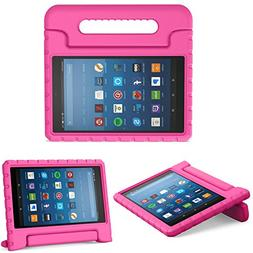 MoKo Case for Fire HD 8 2016 Tablet - Kids Shock Proof Conve