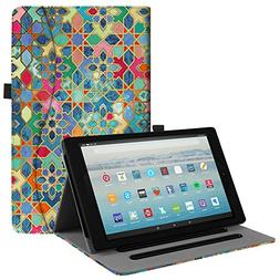 Fintie Case for All-New Amazon Fire HD 10 Tablet  -  Folio S