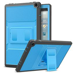 MoKo Case for All-New Amazon Fire HD 10 Tablet  -  Shockproo