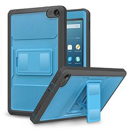 MoKo Case for Fire HD 8 2016 Tablet -  Full Body Rugged Cove