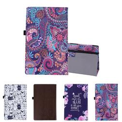 Case for Amazon Fire HD 10 Tablet Slim Folding Cover with Au