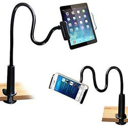 FeelPower Cell Phone Stand Holder, Tablet Clip Holder,Long A