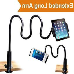 Cellphone & Tablet 2 in 1 Stand Holder Clip with Grip Flexib