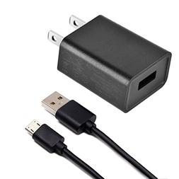 Charger for use with Kindle,UL Listed 2A AC Adapter with 3.3