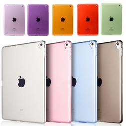 Crystal Clear Transparent TPU Gel Jelly Case For iPad2/3/4 P